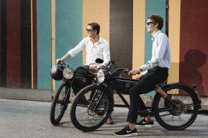 Ein E-Moped mit Style