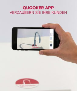 Die Quooker Augmented Reality App