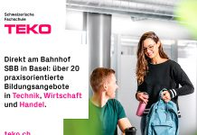 TEKO, TEKO Basel, Weiterbildung, Jubiläum, Website